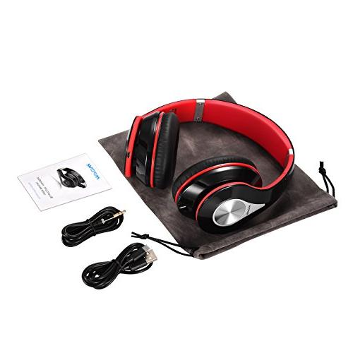 Mpow 059 Bluetooth Over Hi-Fi Wireless Memory-Protein w/Built-in PC/Cell Phones/TV