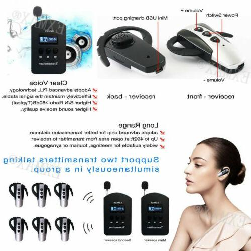 EXMAX 2.4G Wireless Transmitter Meeting EXD-6824 W/