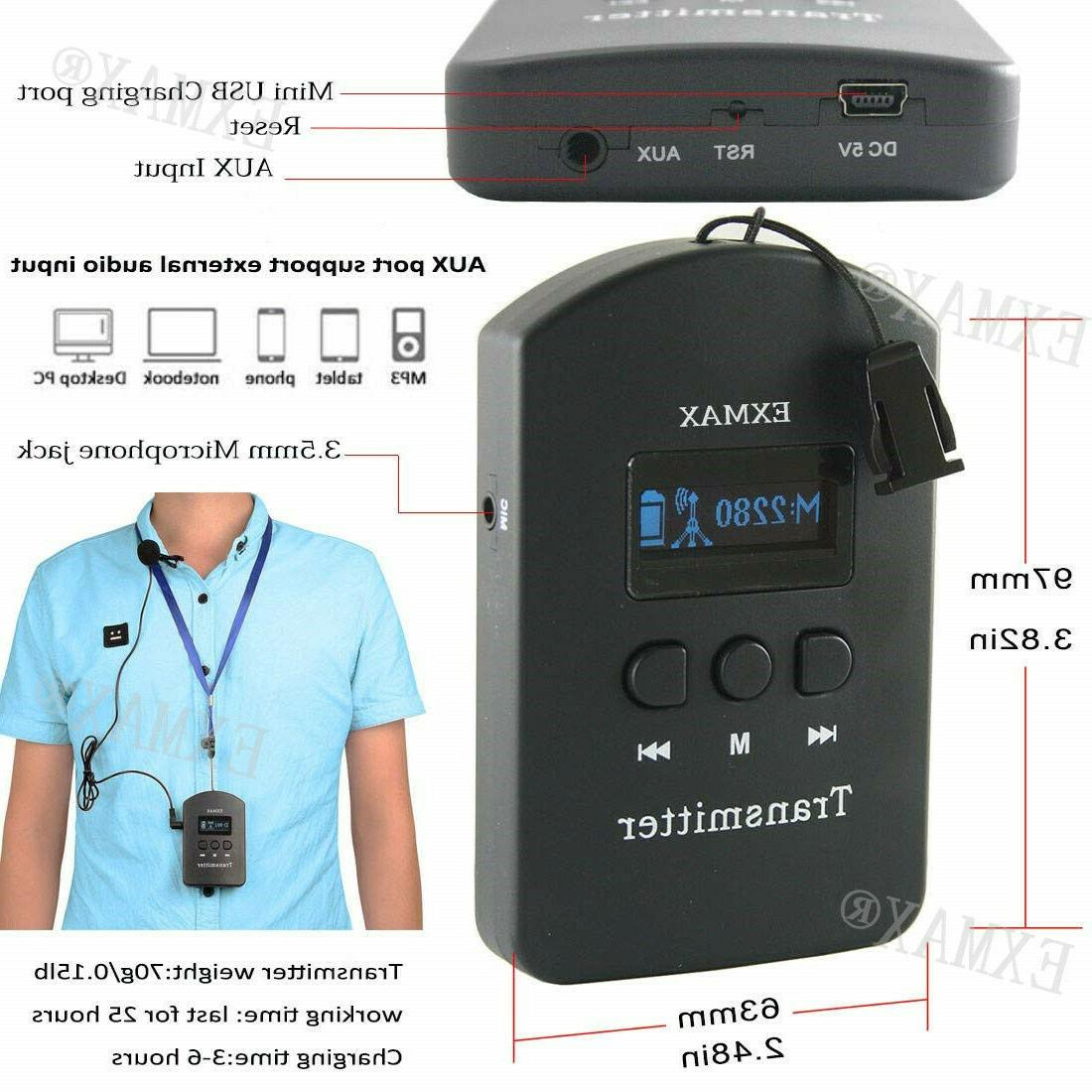 EXMAX 2.4G Wireless For 2 Meeting