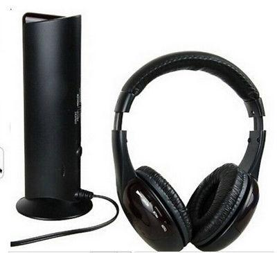 5 in Headset Wireless Mic DVD MP3 MP4