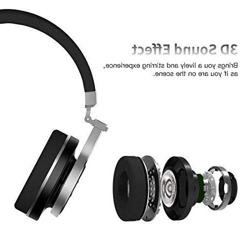 Bluedio T3 Bass Bluetooth with Mic, 57mm Folding Headset, Wired and Wireless Headphones Cell Gift