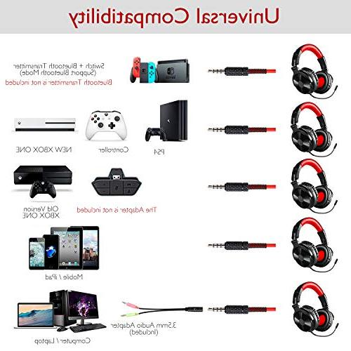 Bluetooth Over OneOdio Wired Headsets with for PC, Cell Phones, Office, Wireless Hrs