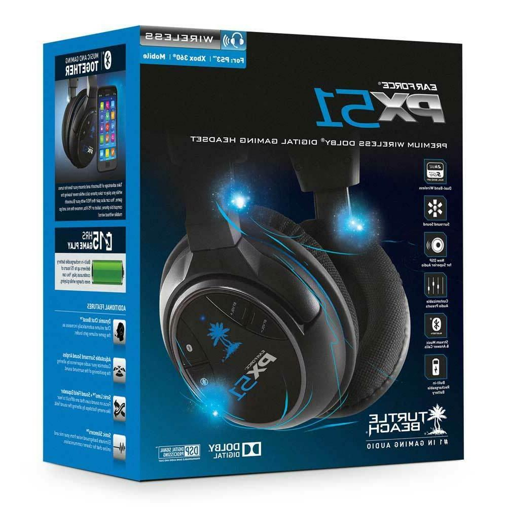 Turtle Beach Ear Force Px51 Wireless Gaming