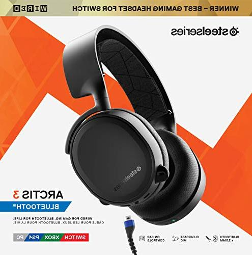 SteelSeries Wired PC, Playstation 4, One, VR, iOS -