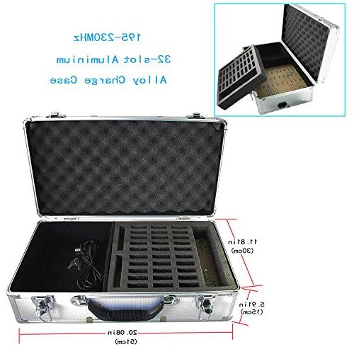 EXMAX Tour Monitoring Audio Transmission System Aluminium Alloy for Teaching Tour Conference
