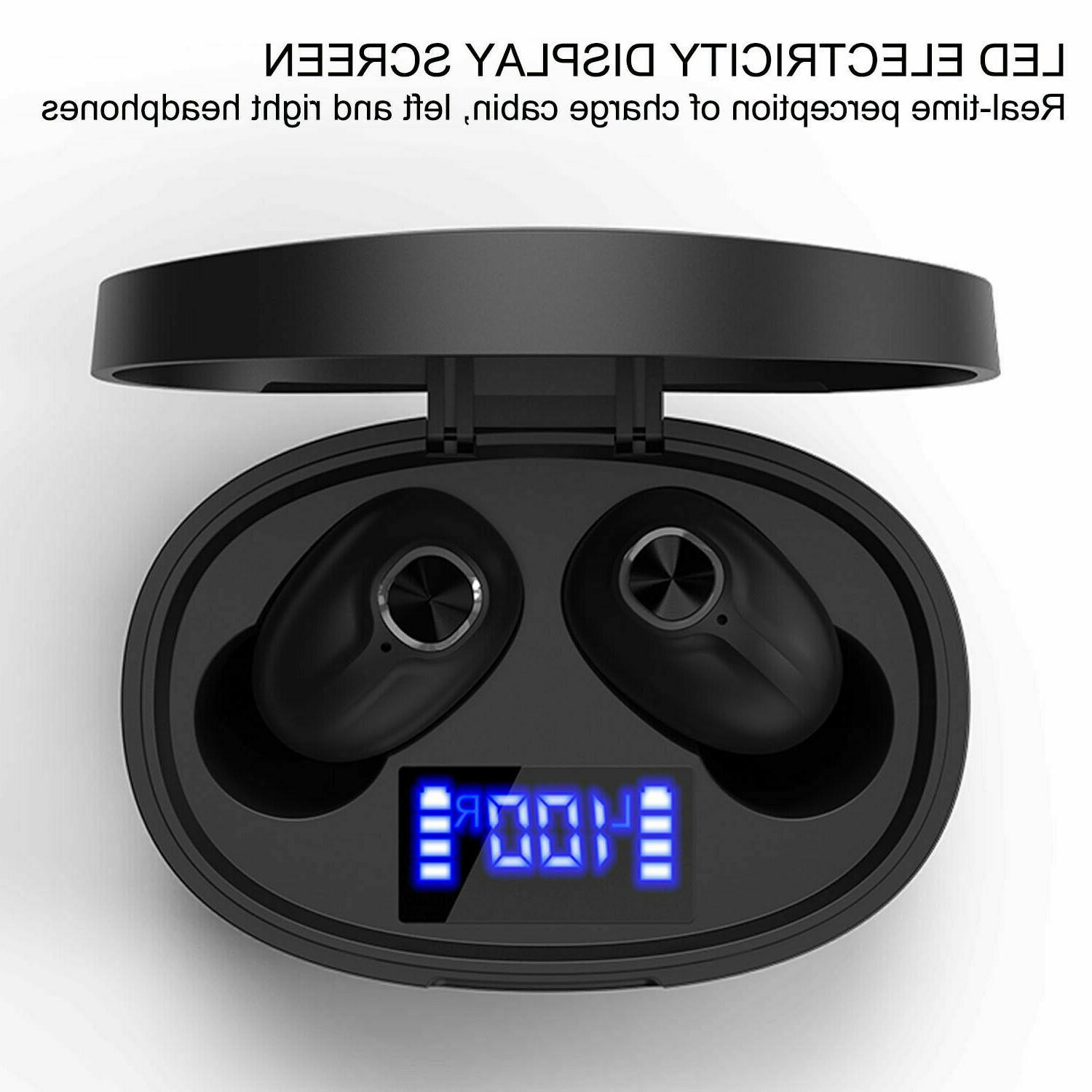 Bluetooth 5.0 Wireless Mini Stereo Headphones
