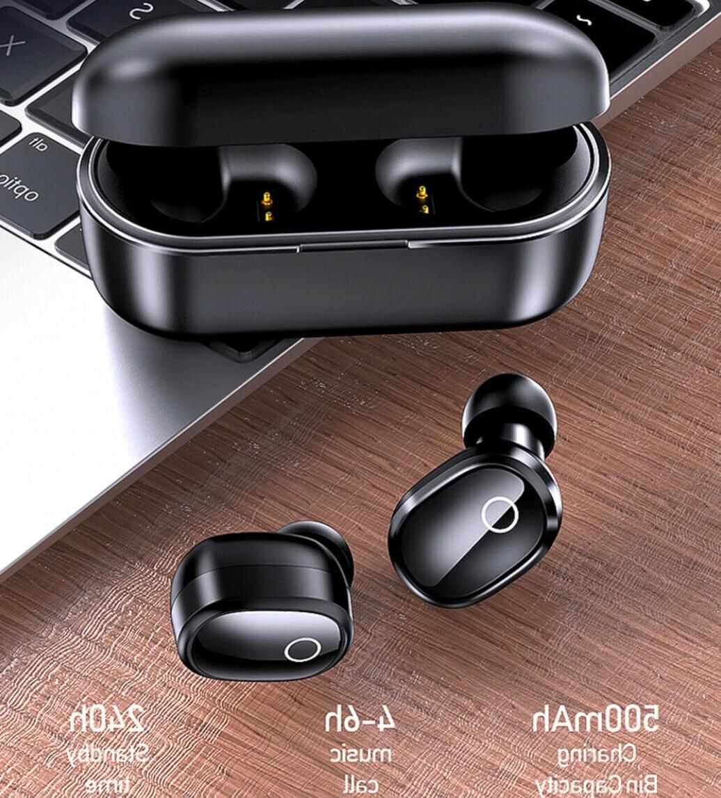 Bluetooth 5.0 True Earbuds Headsets Noise Cancelling
