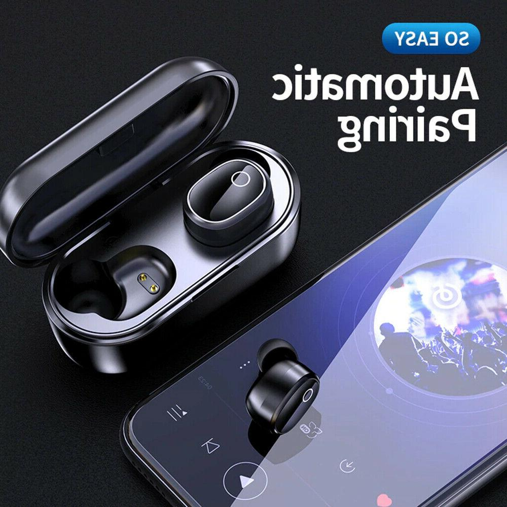 Bluetooth True Earbuds Sports Headsets Cancelling Headphones