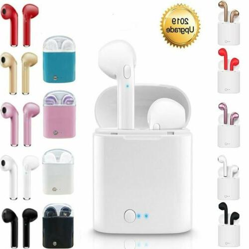 bluetooth earphones for iphone android samsung earpods