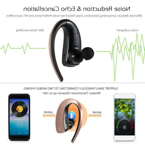 Bluetooth Wireless Headset with for