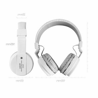 Bluetooth Sport Foldable Headsets MIC For iPhone