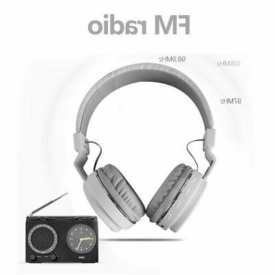 Bluetooth Headphones Sport Foldable Headsets For