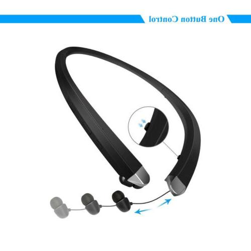 Wireless Bluetooth 910 Retractable Sport Earphone