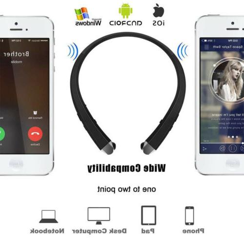 Wireless Bluetooth Headset 910 Retractable