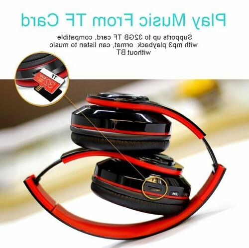 Bluetooth Cancelling Over Ear Wireless Headset