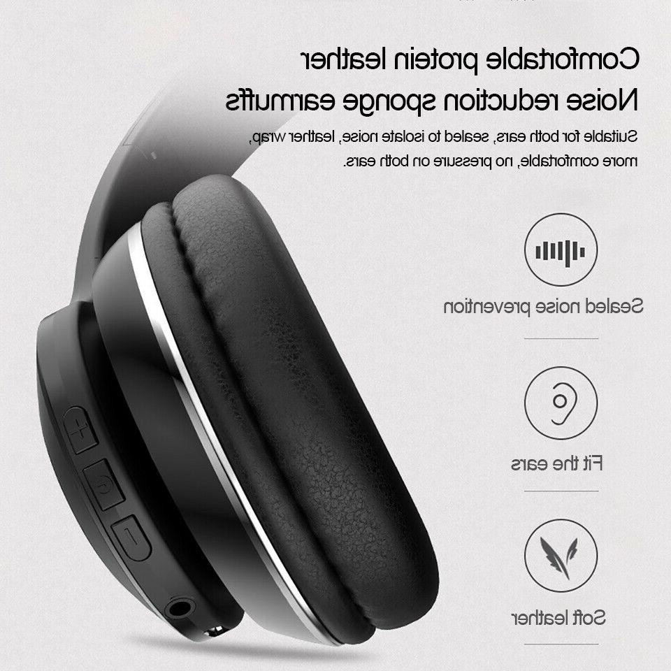 Bluetooth Noise Over Ear Wireless