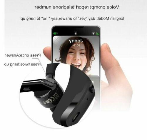 Bluetooth Wireless Earpiece for iPhone Andorid Phone Car