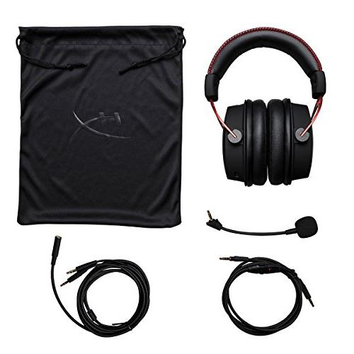 HyperX Headset Dual Chamber Drivers Award Comfort - - Works PC, PS4, Xbox One,
