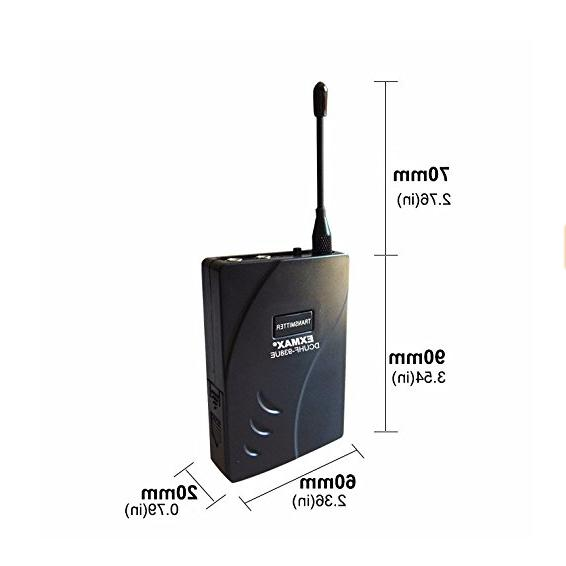 EXMAX DCUHF-938UE Wireless Tour 1T8R