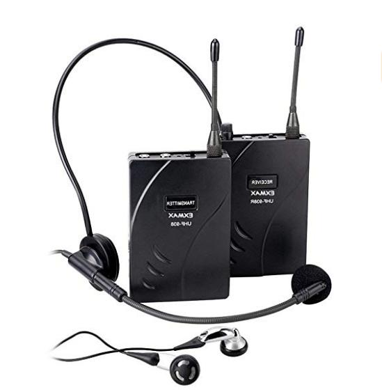 EXMAX DCUHF-938UE Headset 1T8R Church