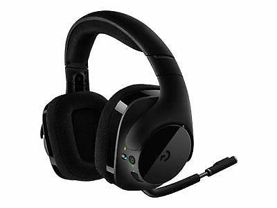 g533 wireless black headband headsets for pc