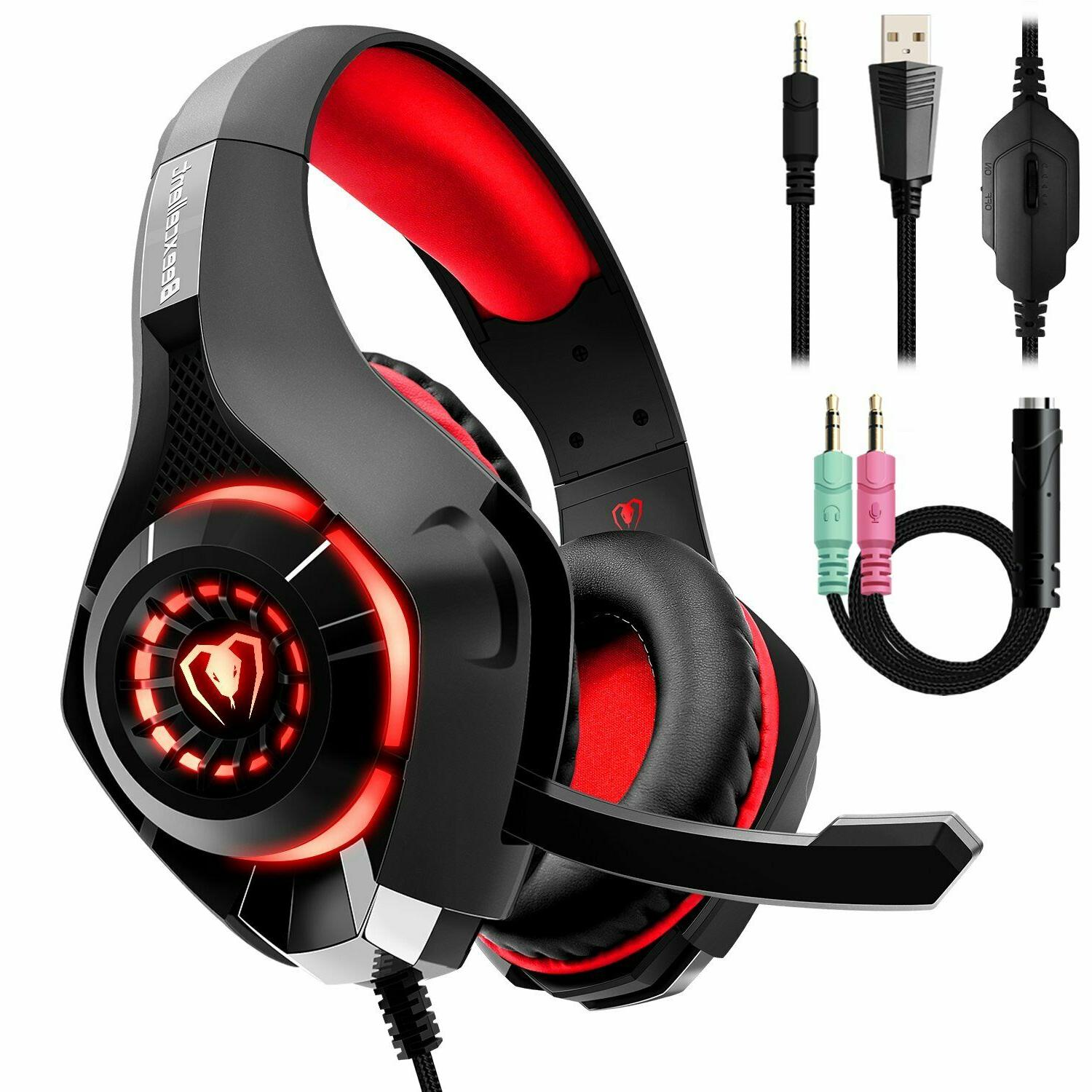 gaming headset for pc ps4 laptops