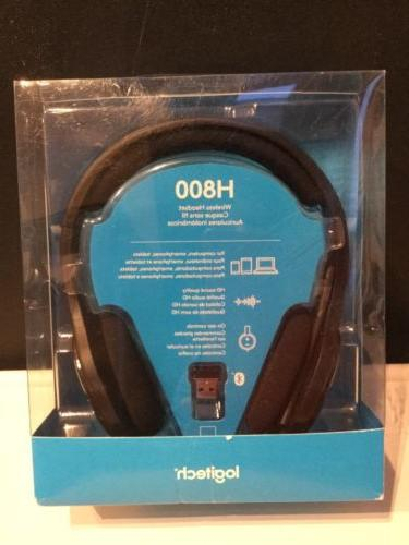 Logitech H800 Wireless Bluetooth Headset For Pc Tablets