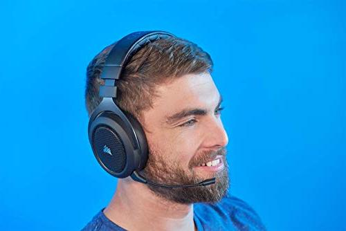CORSAIR Wireless Headset - 7.1 Sound Headphones PC - 50mm Drivers –