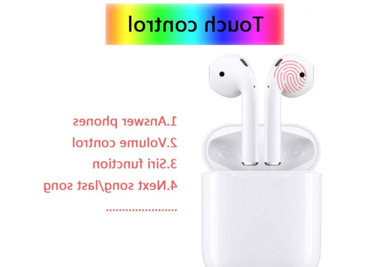 i12 TWS Headset Earbuds Earphones Touch