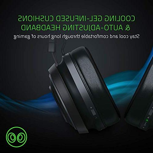 Razer Ultimate: Spatial Technology Audio – Cooling Cushions Gaming Works PS4, Xbox Mobile Devices