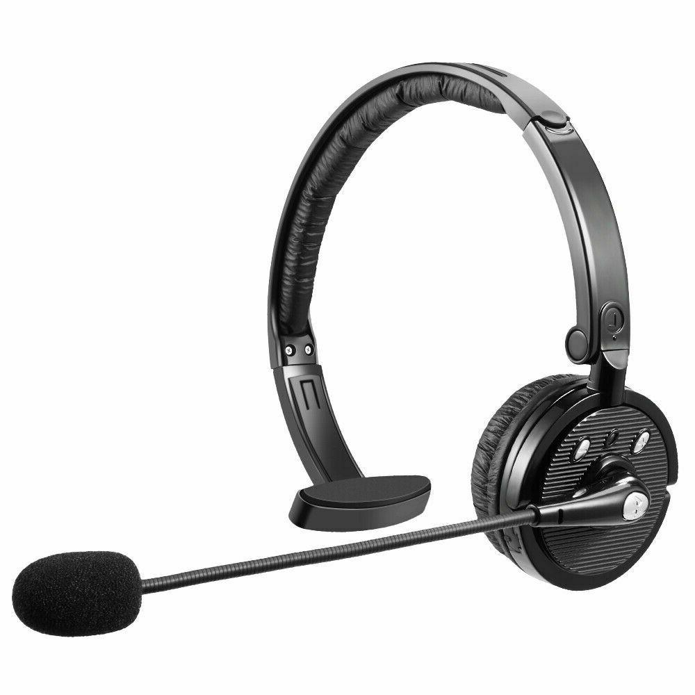 Noise Cancelling Wireless Bluetooth Headset