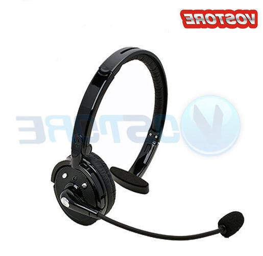 Over The Head Boom Mic Wireless Bluetooth Office Headset for