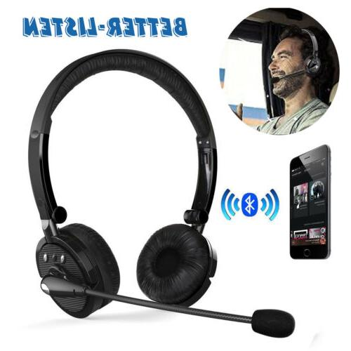 Over the Head Bluetooth Stereo Wireless Headphones Gaming He