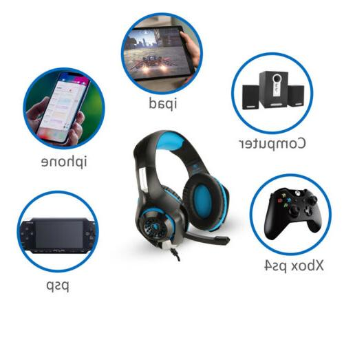 Pro Gaming XBOX One Mic Stereo Headphones HOT