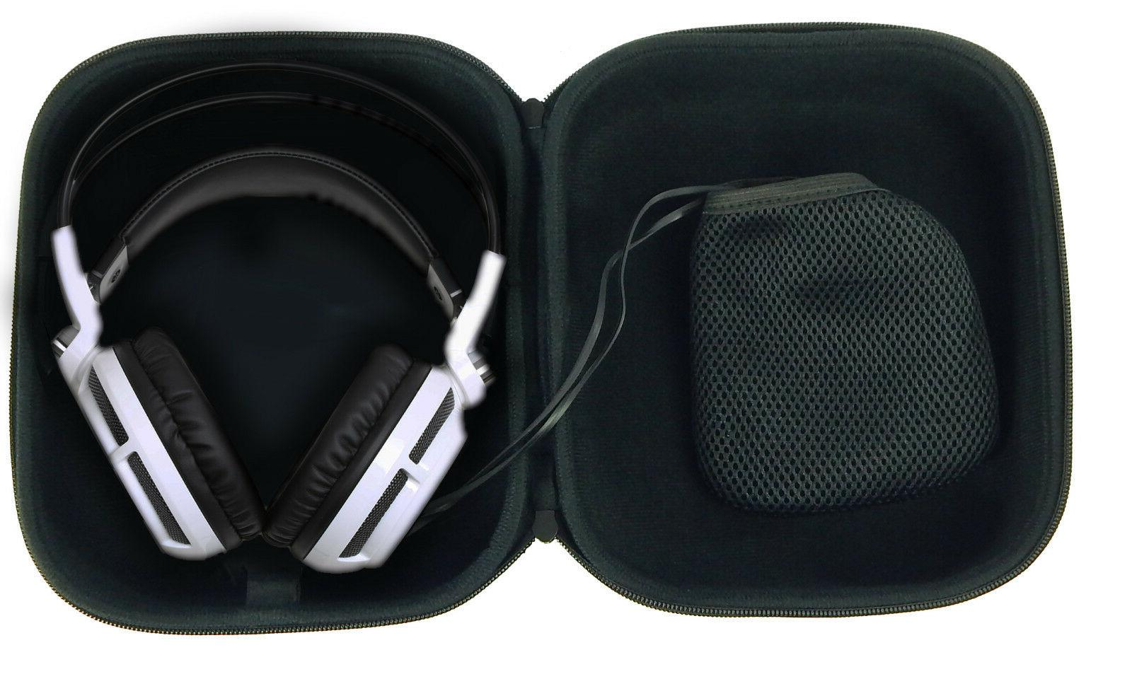 CASEMATIX Travel Fits SteelSeries , Siberia 800 Prism Raw , Siberia V2 PC PS4 and XBOX