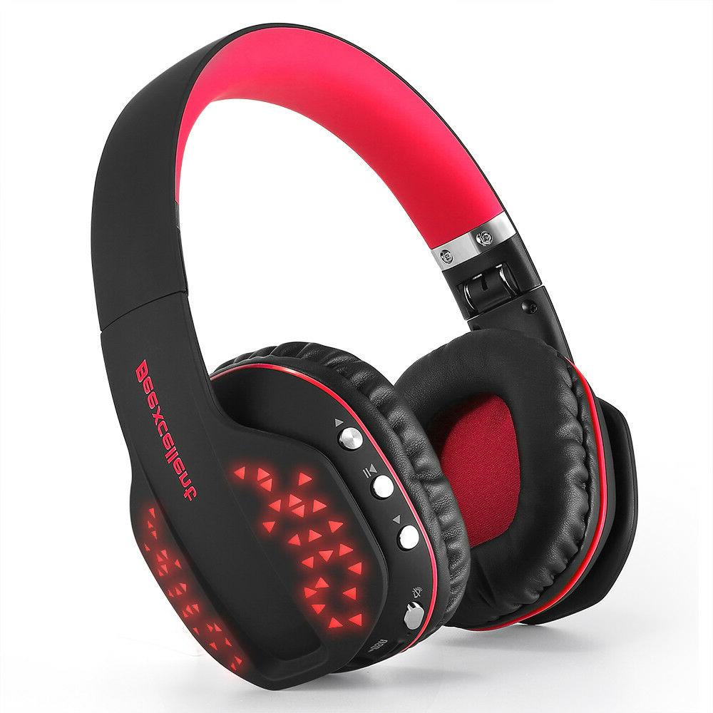Beexcellent Bluetooth Gaming Headset LED /PC Laotop