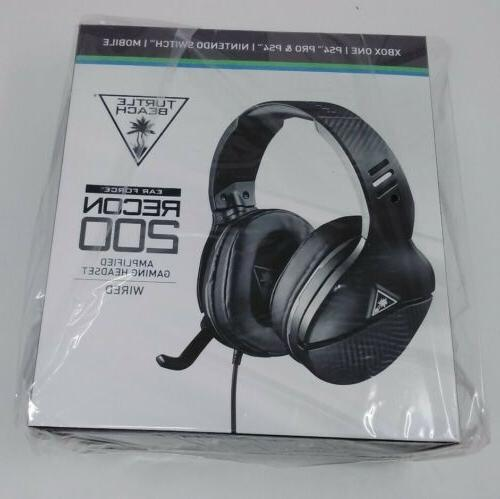 recon 200 amplified gaming headset