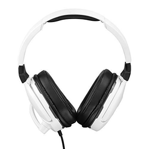 Turtle White Headset for One, PS4 and PS4 Pro