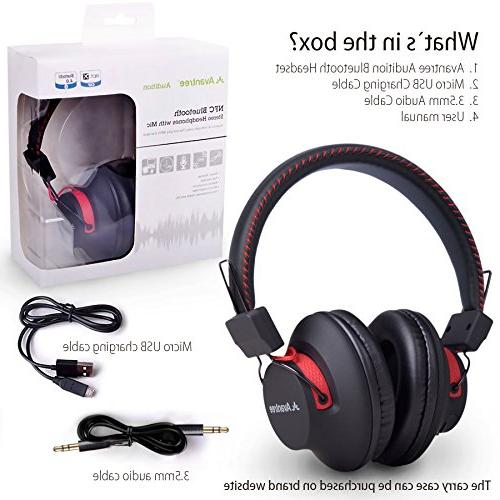 Avantree 40 Wired Headphones aptX HiFi and LIGHTWEIGHT, NFC, for PC Laptop