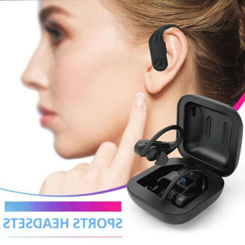 TWS Earhook Earphones Stereo
