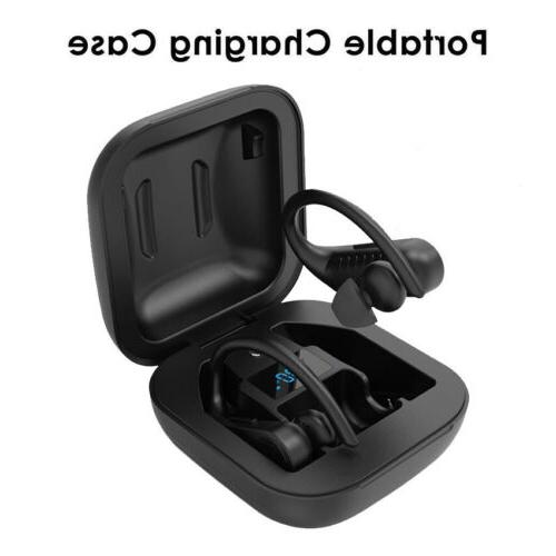 TWS Bluetooth Earhook HiFi Earbuds Earphones