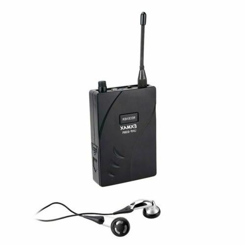EXMAX UHF Wireless Headset Microphone Guide