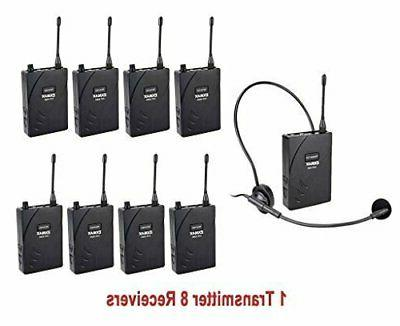 uhf 938 uhf wireless headset microphone audio