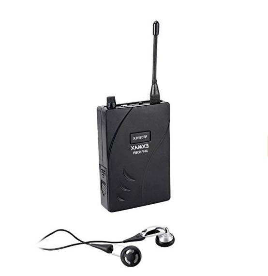 EXMAX UHF-938 Microphone System Strage System