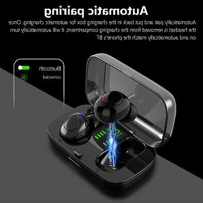 Waterproof Bluetooth Headphones Headsets Stereo Touch Earbuds
