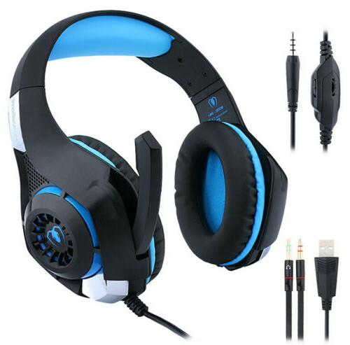 US GM-1 Gaming Headset Headphones PC Laotop