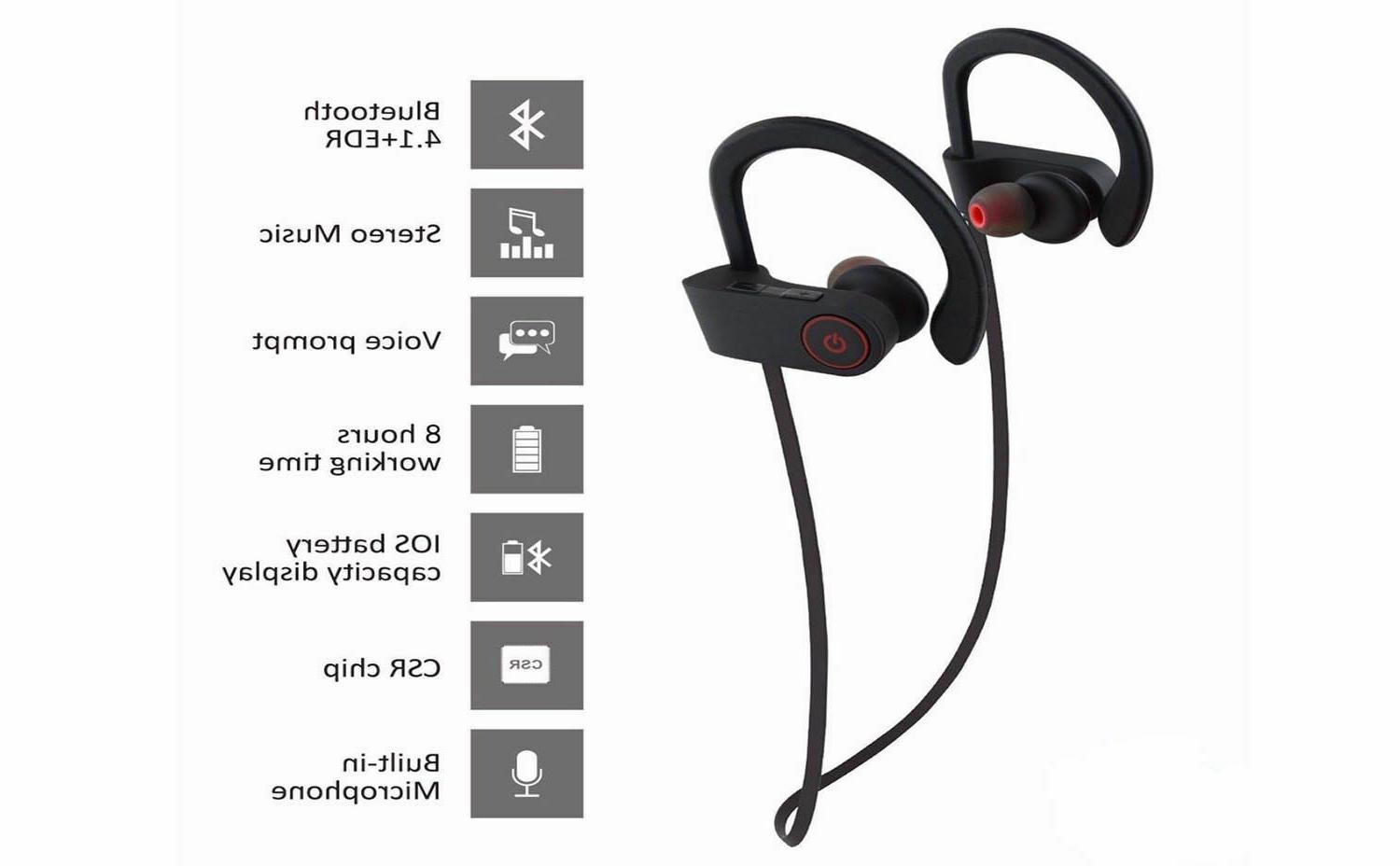 Waterproof Stereo Sports Wireless Ear