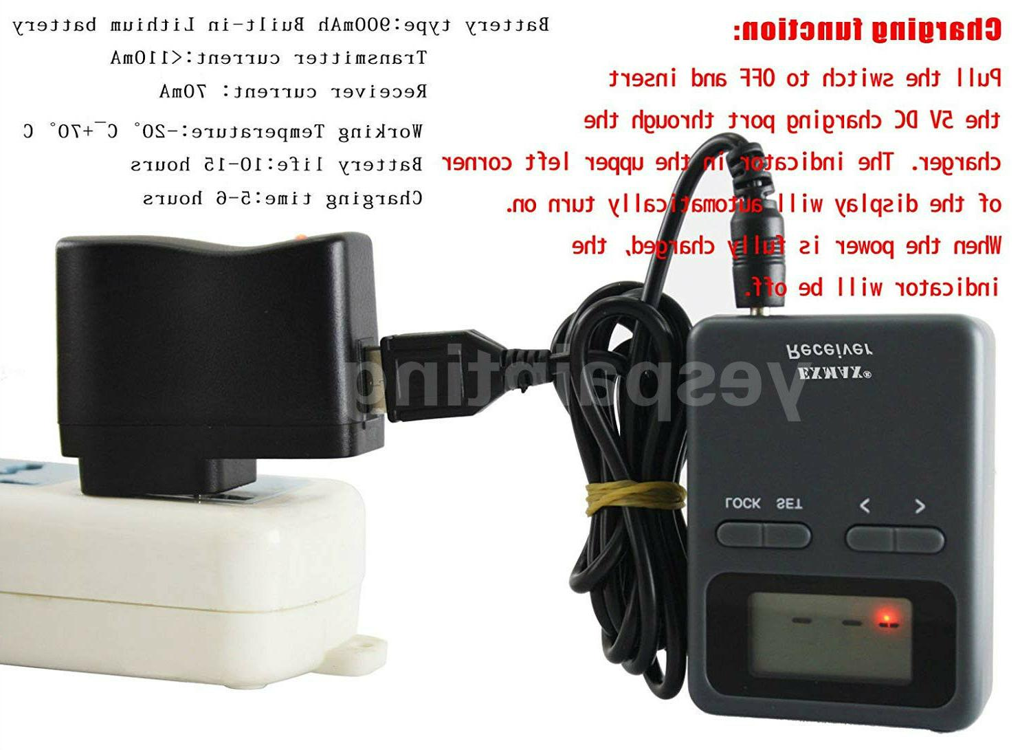 EXMAX Tour Guide System Microphone 1T8R For