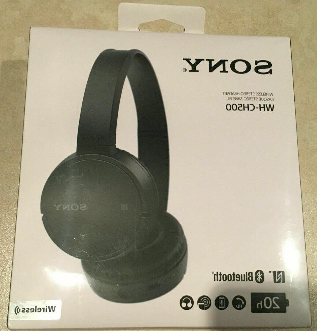 wh ch500 bluetooth nfc wireless stereo headset