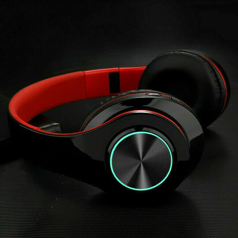 wireless 3 5mm gaming headset led headphones